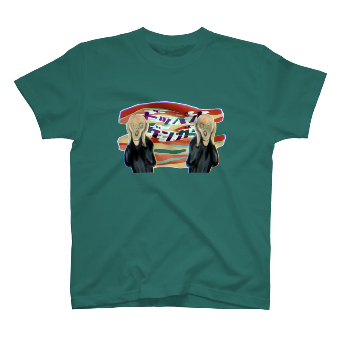名画・歴史人物 がモチーフのTシャツ