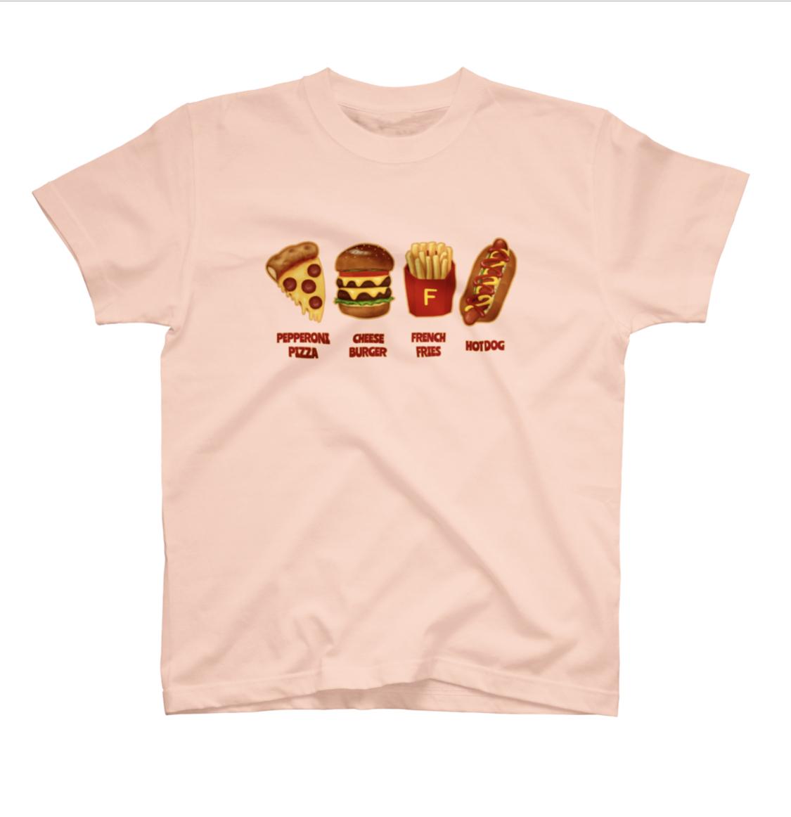 食べ物・飲み物のTシャツ