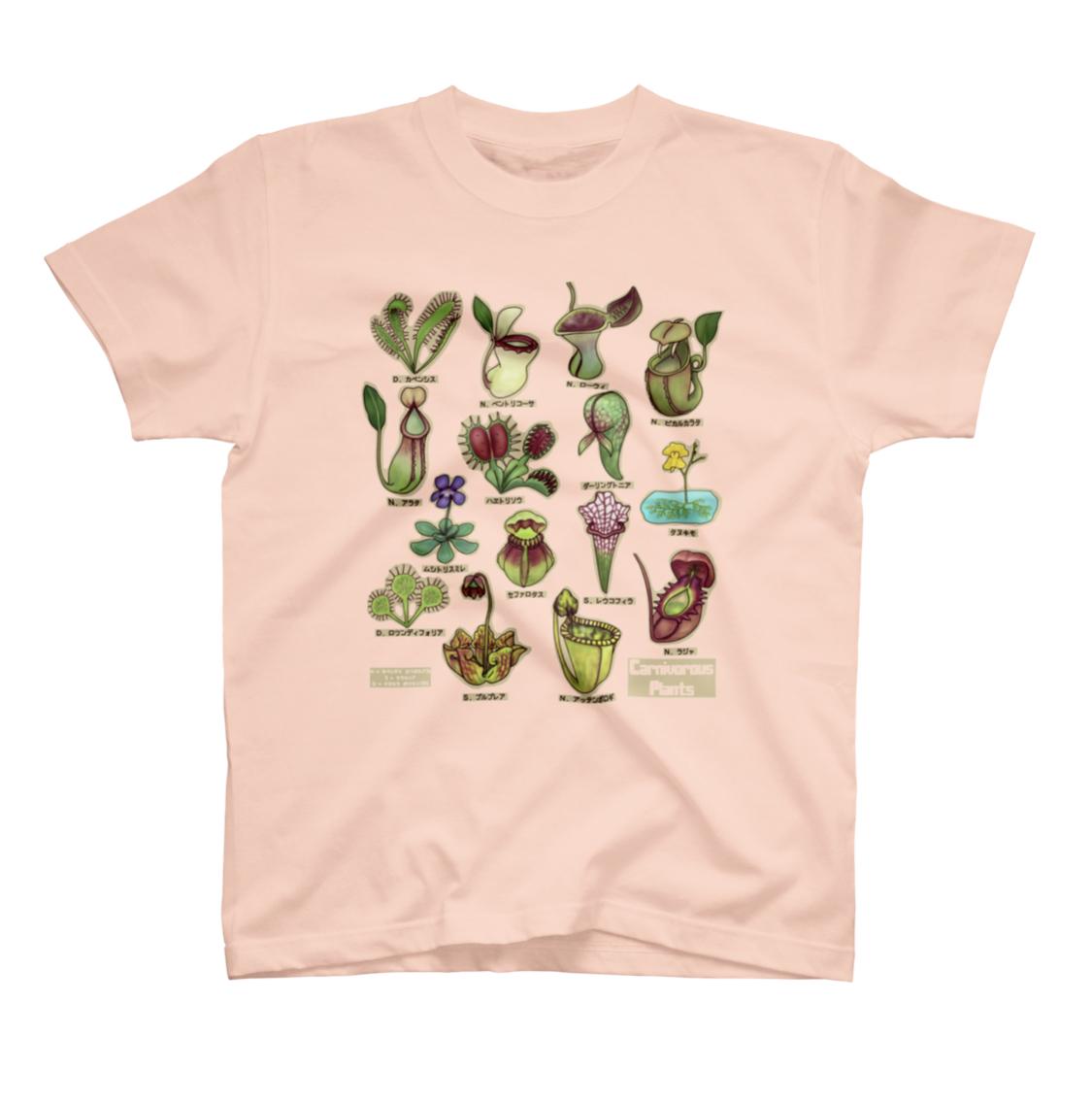 植物のTシャツ