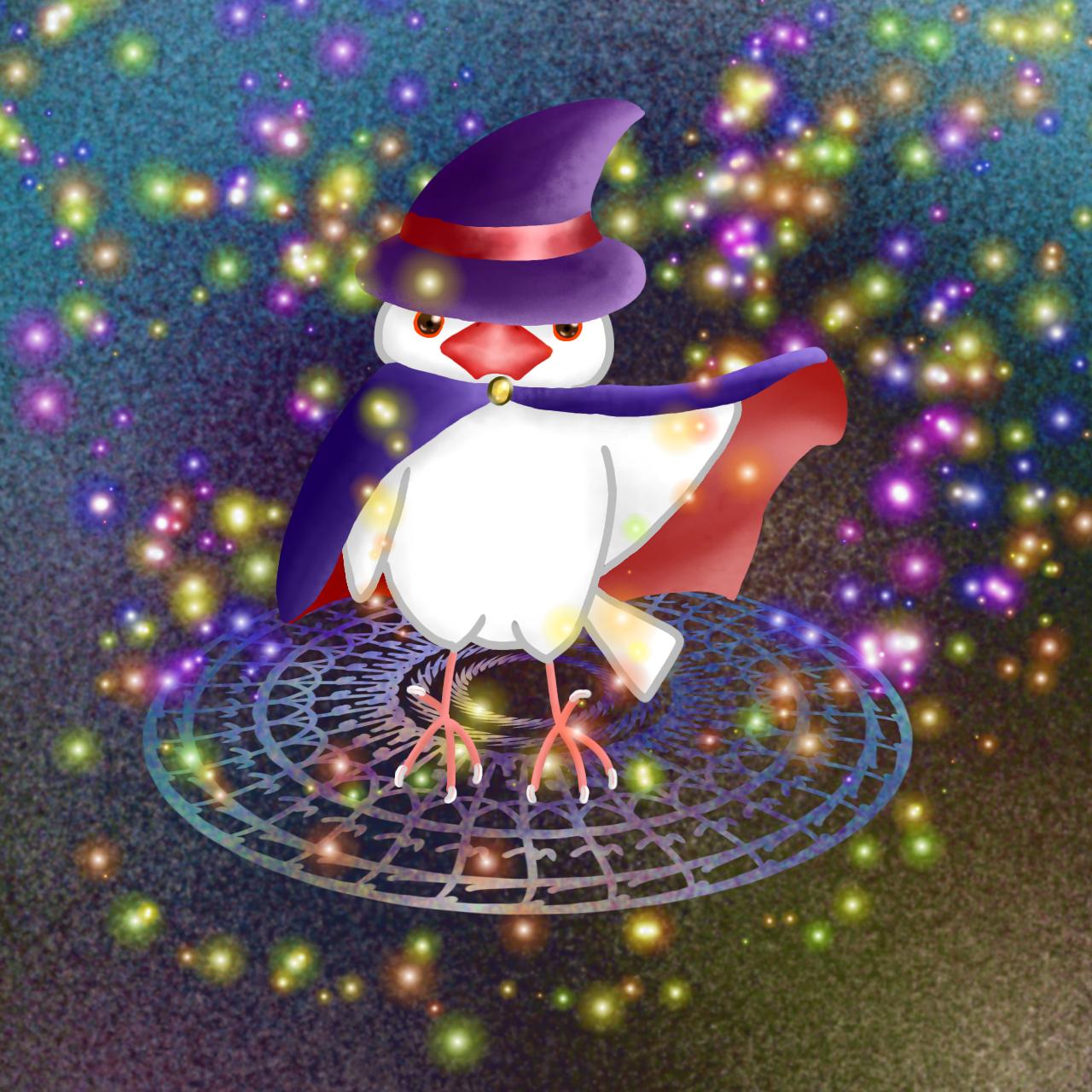 魔法使い文鳥