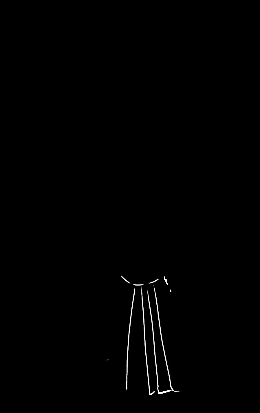 弓道シルエット(両面はロゴあり)
