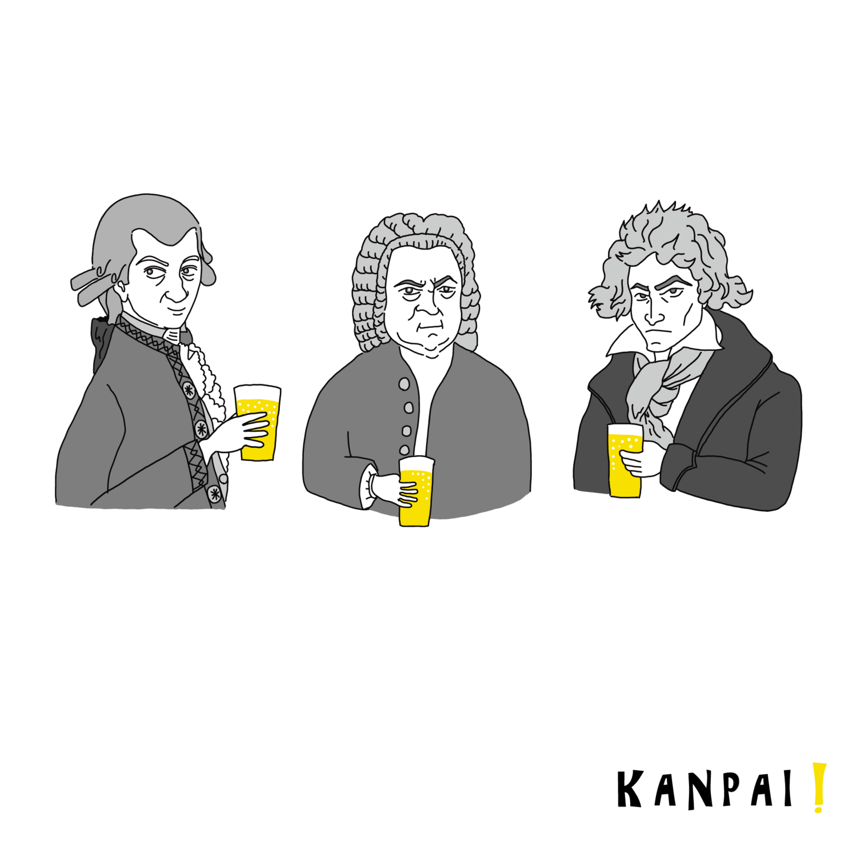 モーツァルト・バッハ・ベートーベン