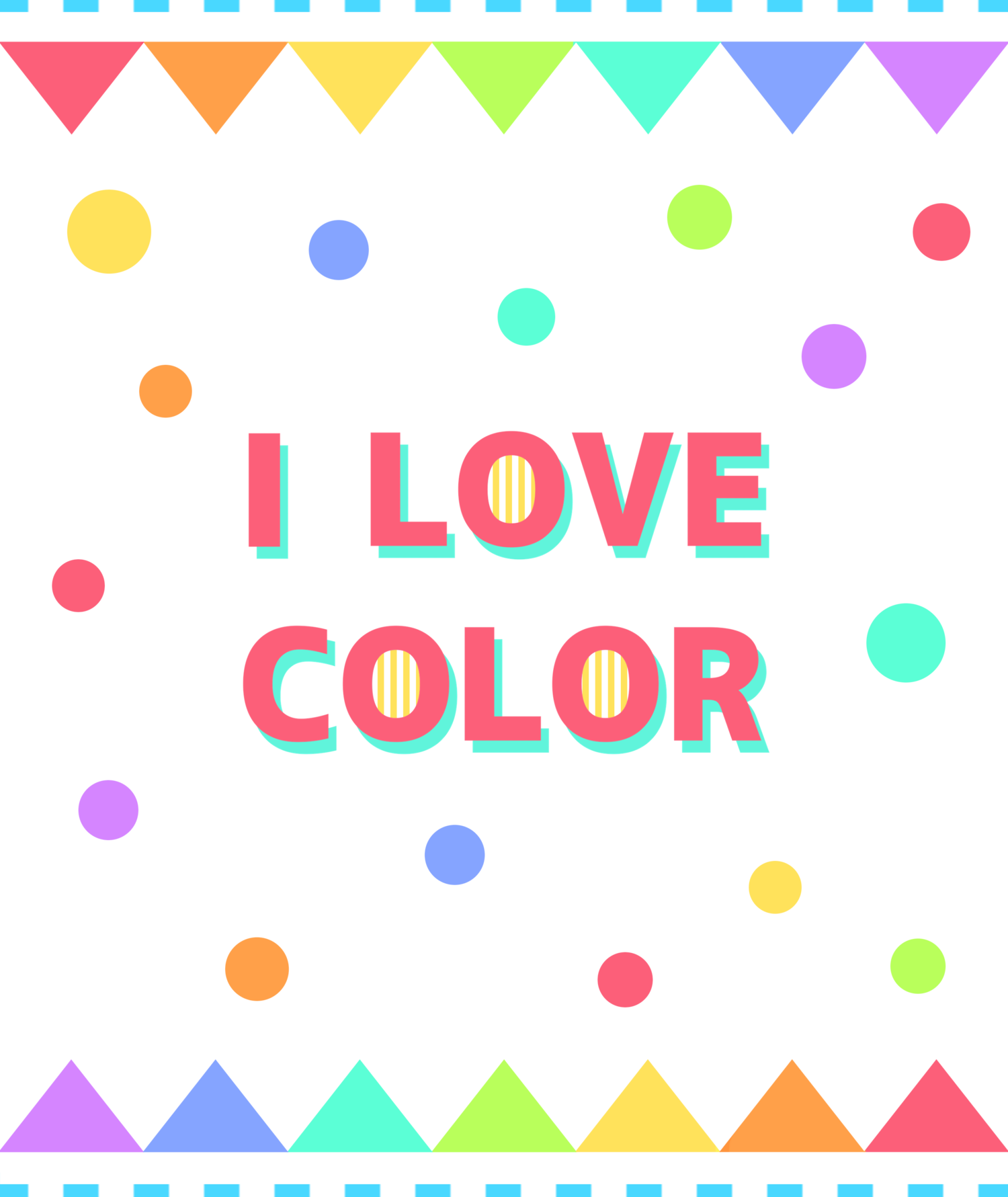 【I LOVE COLOR】