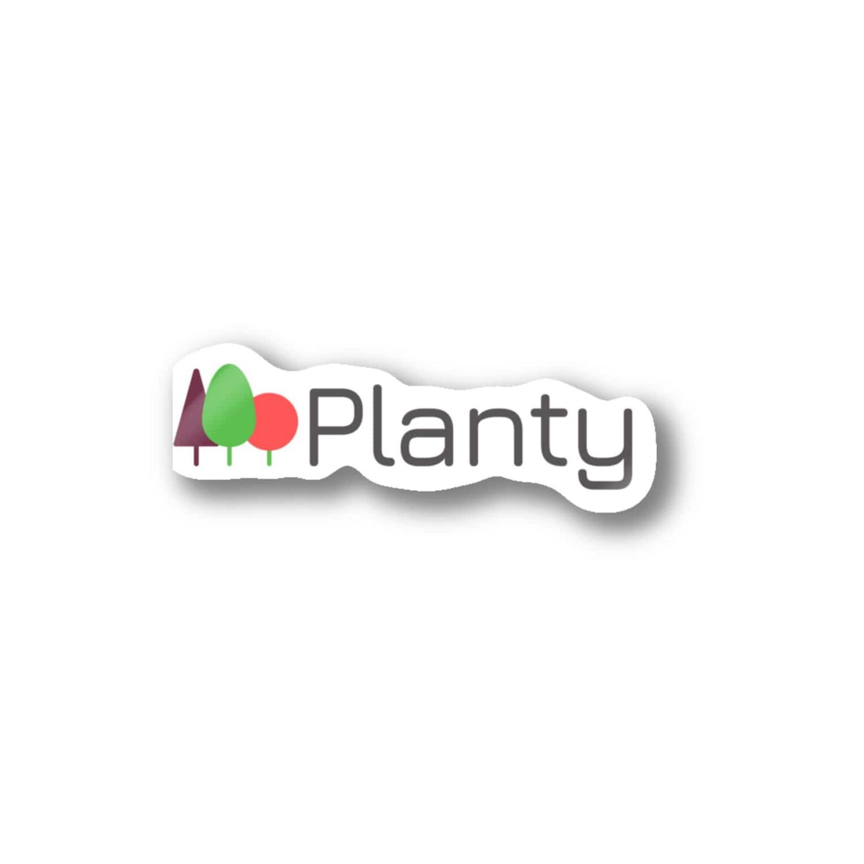 Plantyロゴグッズ