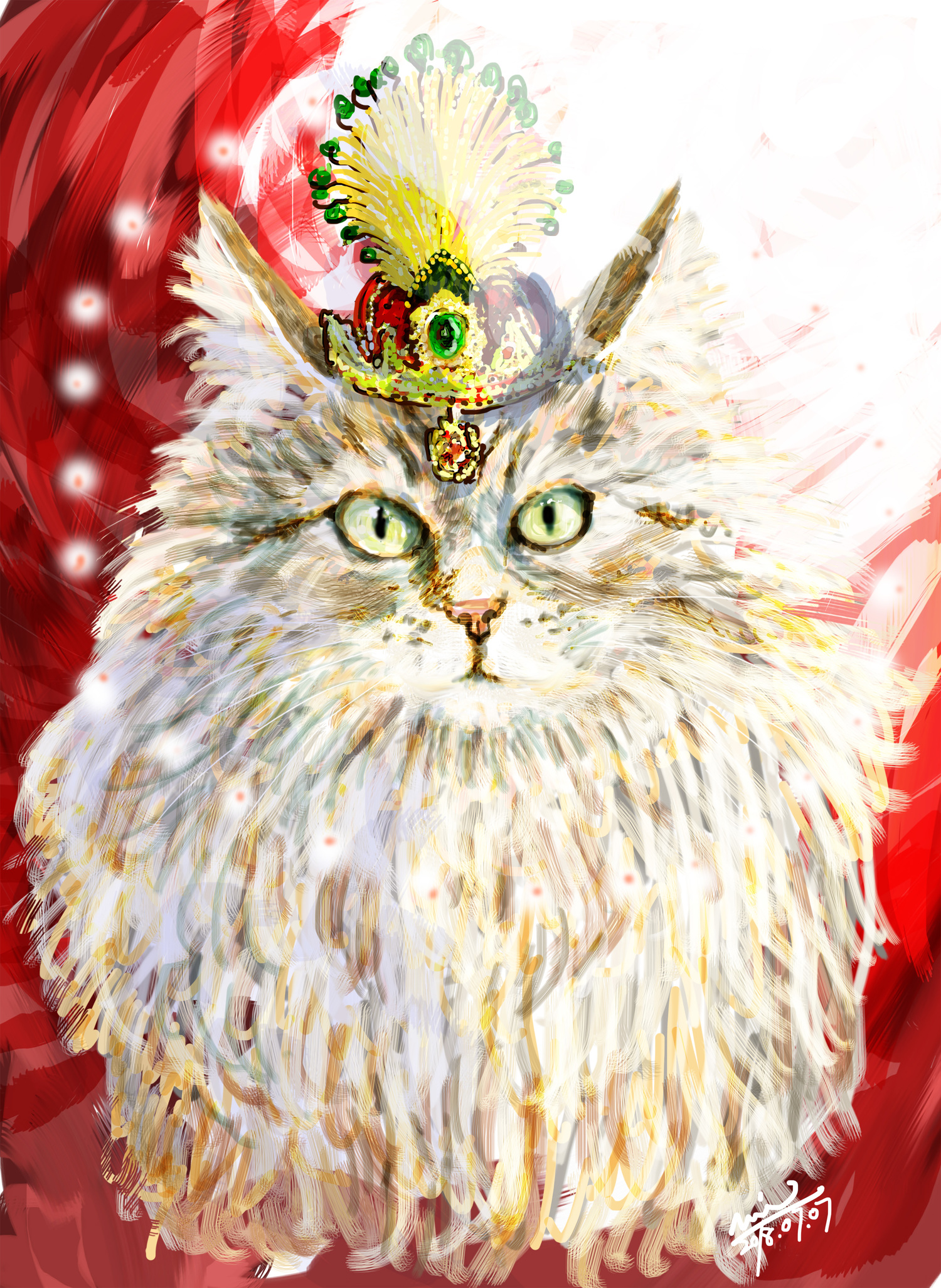 猫の女王様