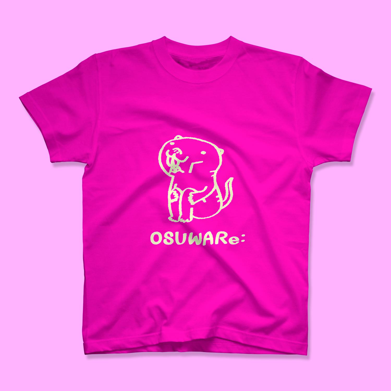 OSUWARe:ノーマルT(白抜きVer.)