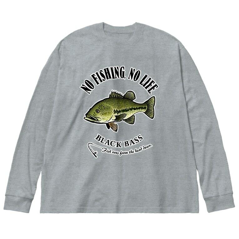 淡水魚(ロングTシャツ)