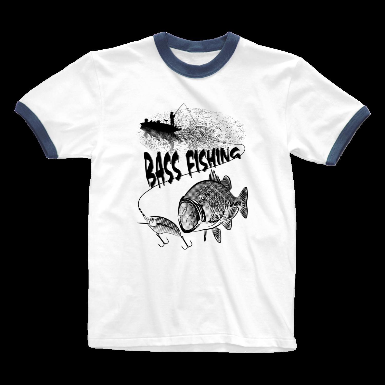 淡水魚(リンガーTシャツ)