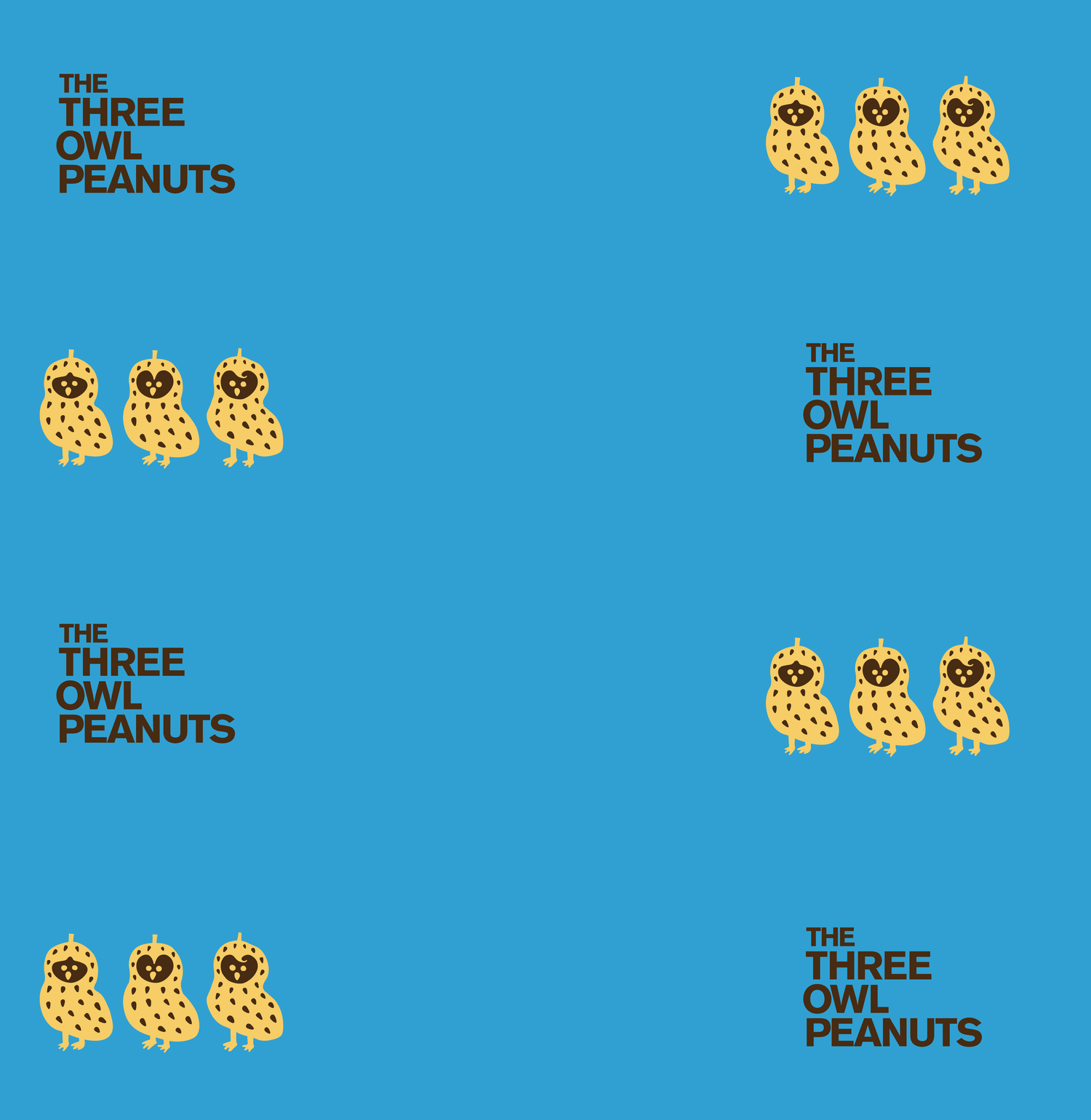 THE THREE OWL PEANUTS