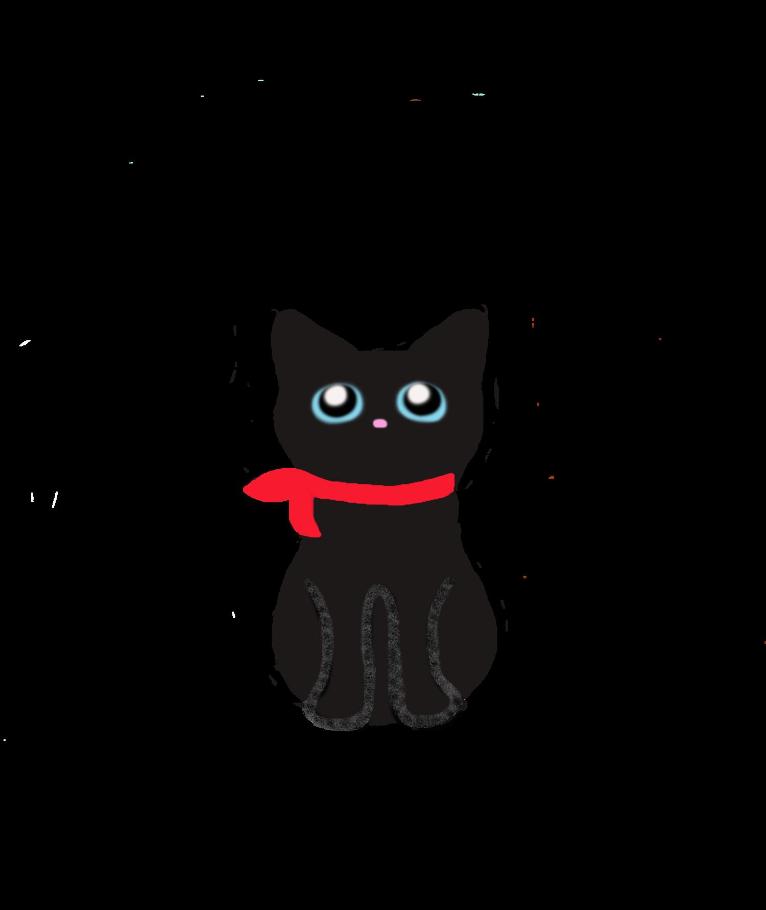 黒猫むーちゃん=^_^=