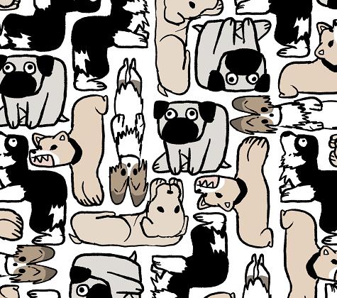 犬ブロック