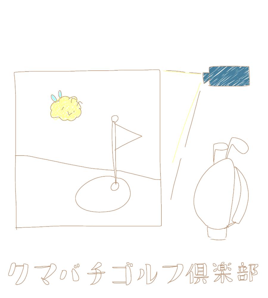 クマバチとプロジェクター