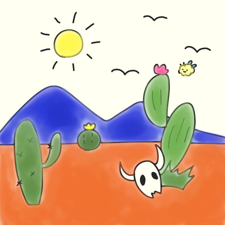 クマバチとメキシカンタイル