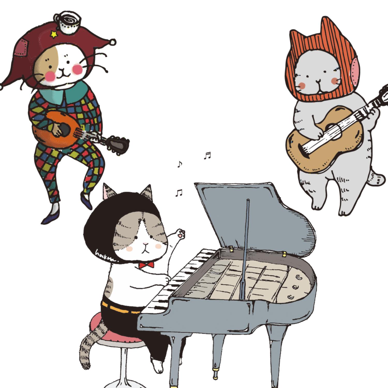 音楽家のねこ達♬