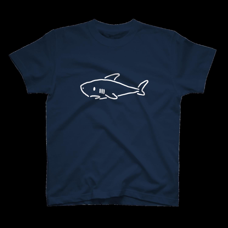 シンプルなサメ