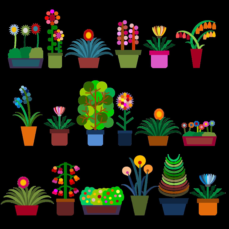鉢植えシリーズ