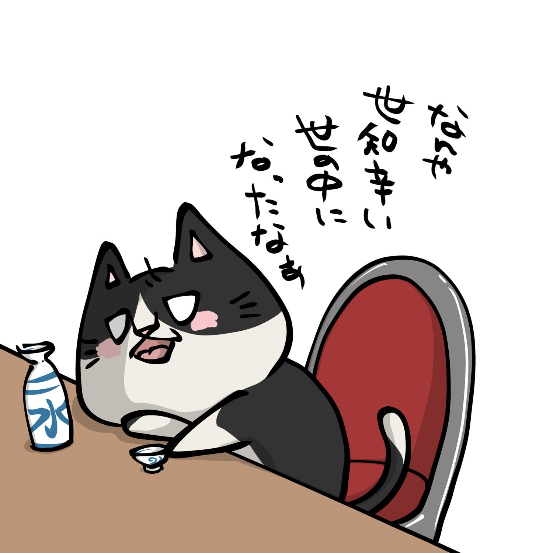 やさぐれネコ