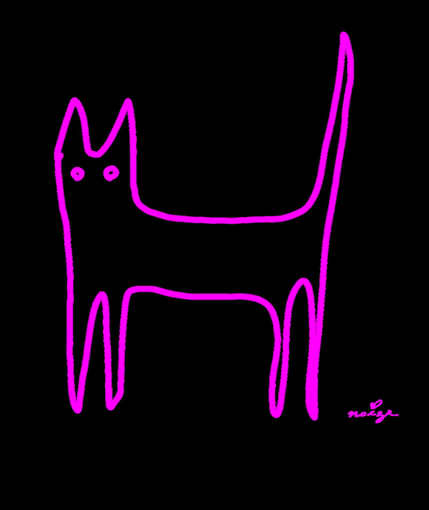シンプル猫シリーズ・その②