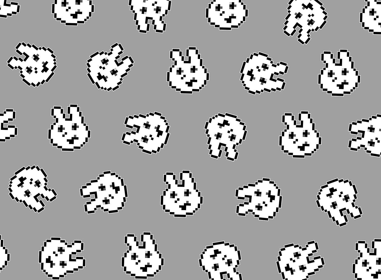 例のウサギ