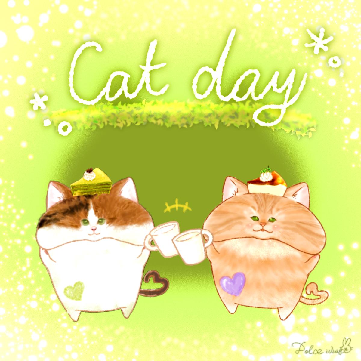 🐱どるちぇ*にゃんこ①(キジトラ&三毛猫)🐱
