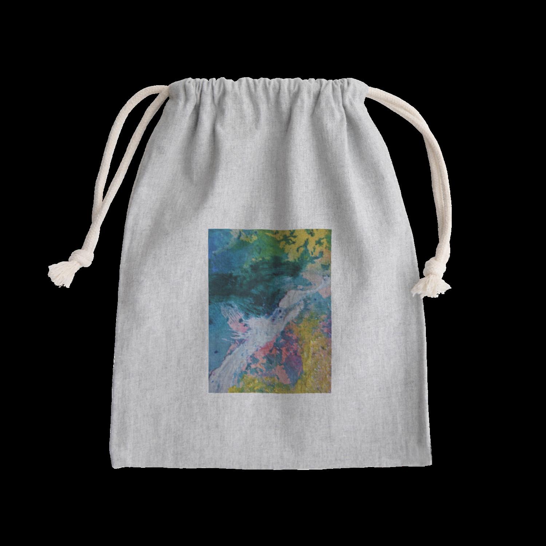 巾着袋 purse
