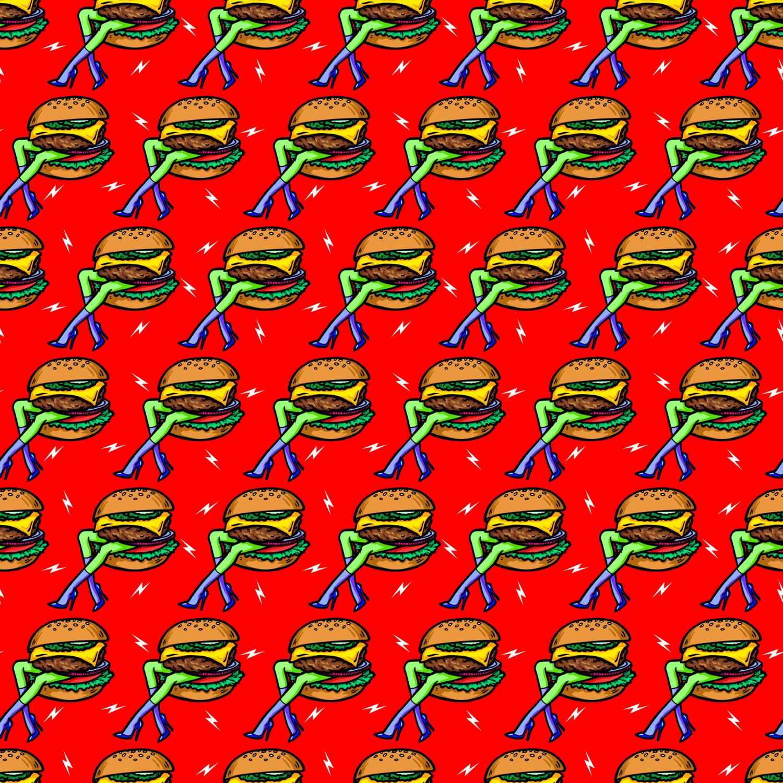 ハッピーハンバーガータイム BUGER HEAVEN