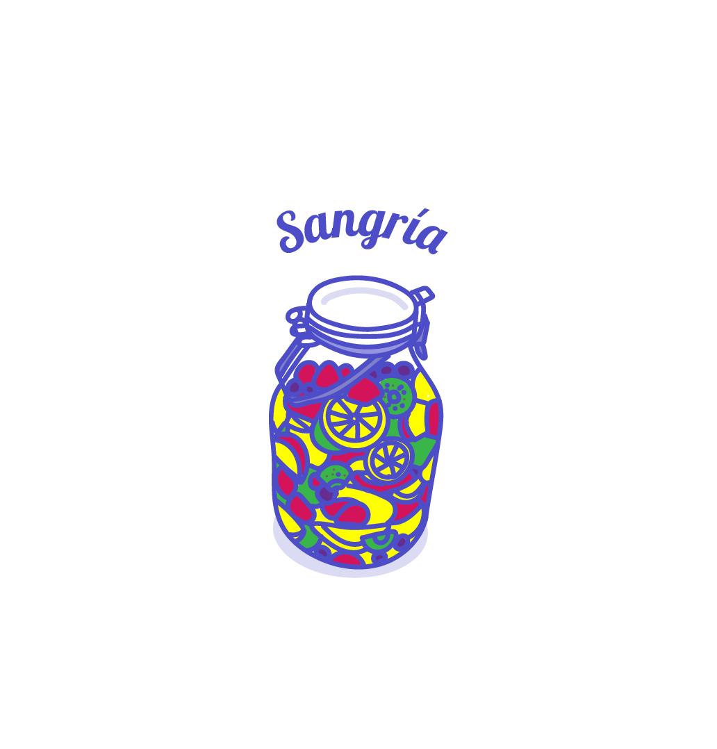 フルーツたっぷりサングリア