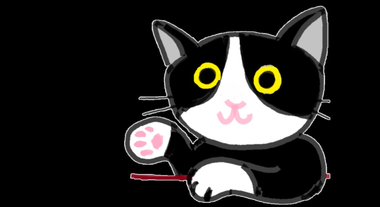 ゆる猫ハチワレ