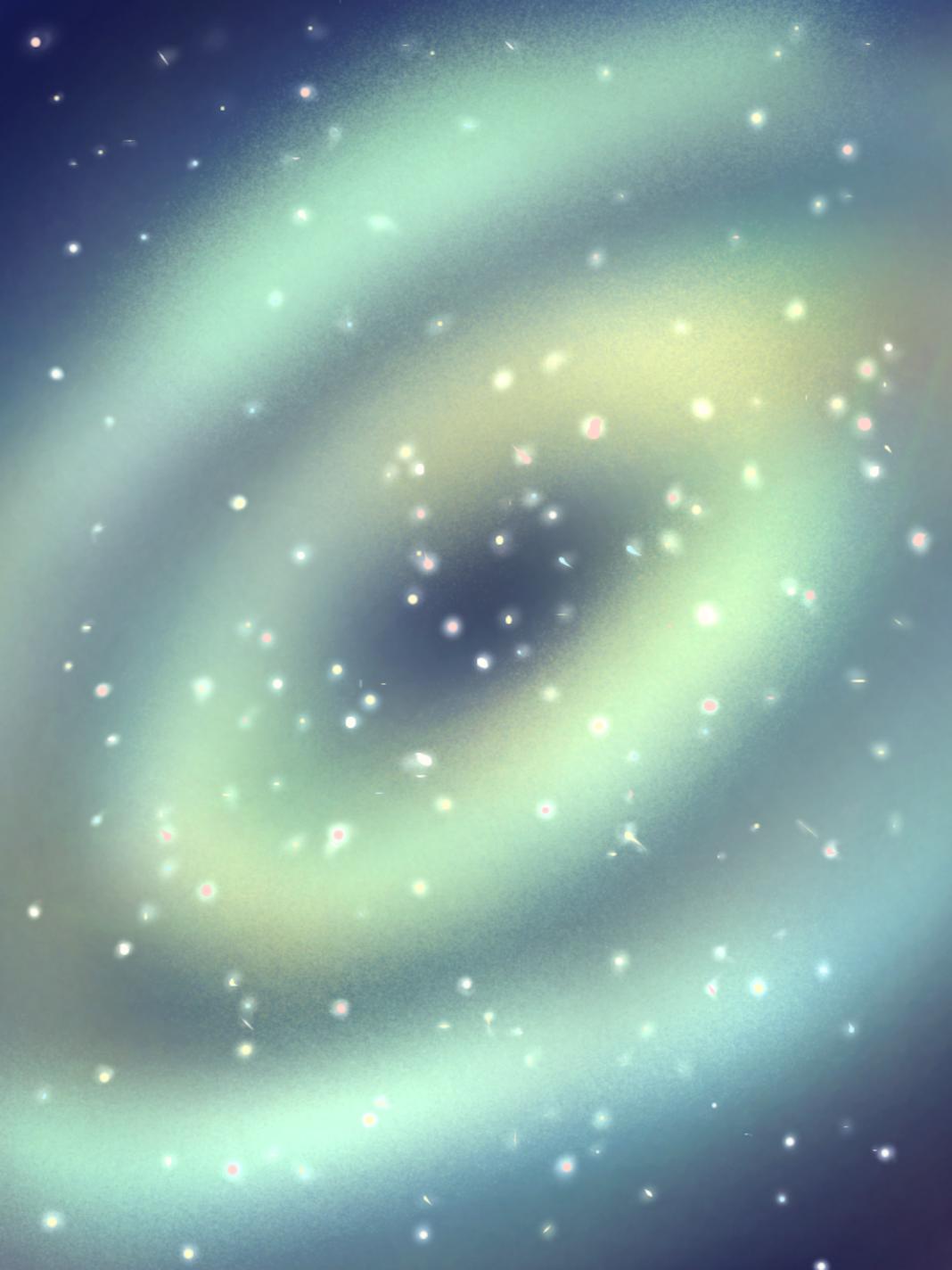 うずまく宇宙