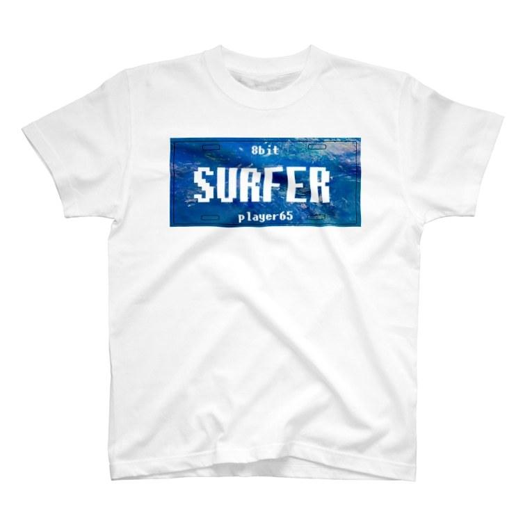 【Tシャツ】ナンバープレート