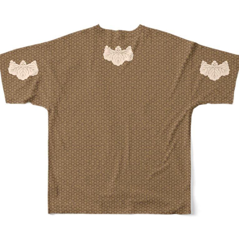 小文地桐紋付韋胴服柄