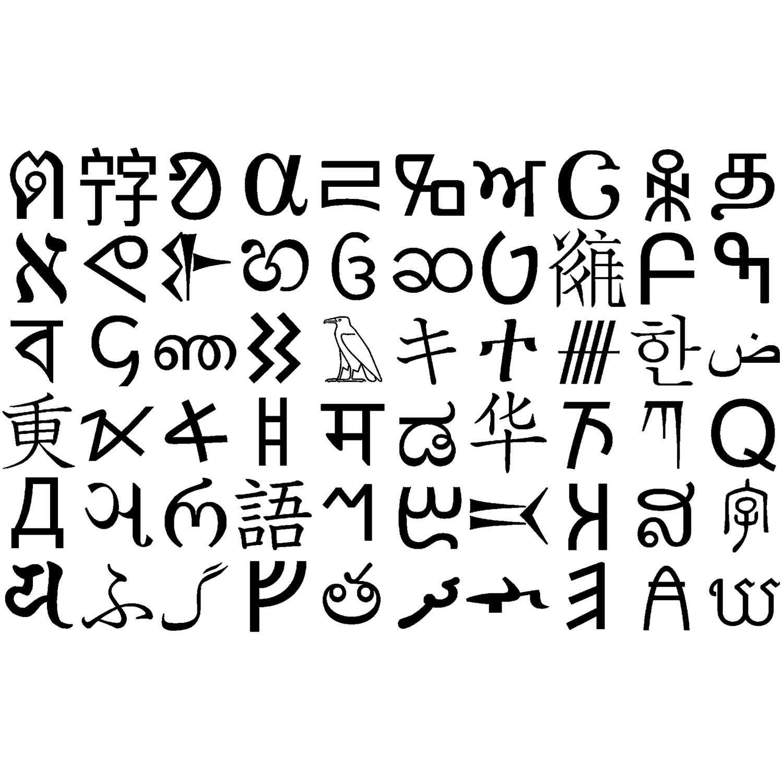 世界の文字