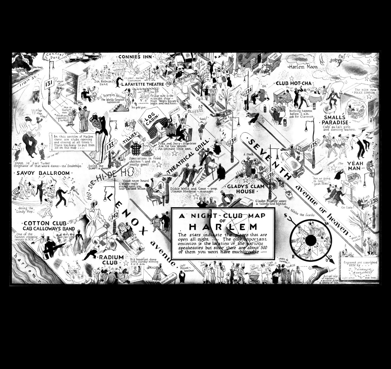 A NIGHT CLUB MAP OF HARLEM