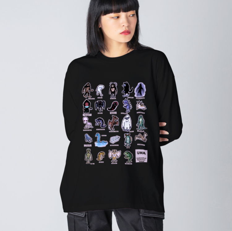 ロングTシャツ(ビッグシルエット)