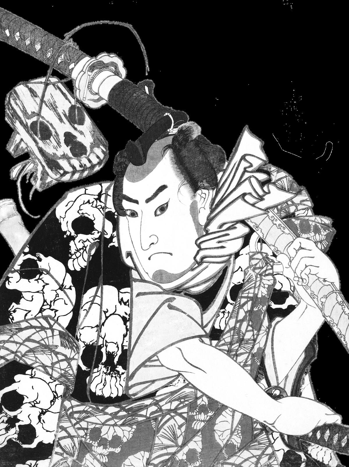 白黒Ukiyo-e Club