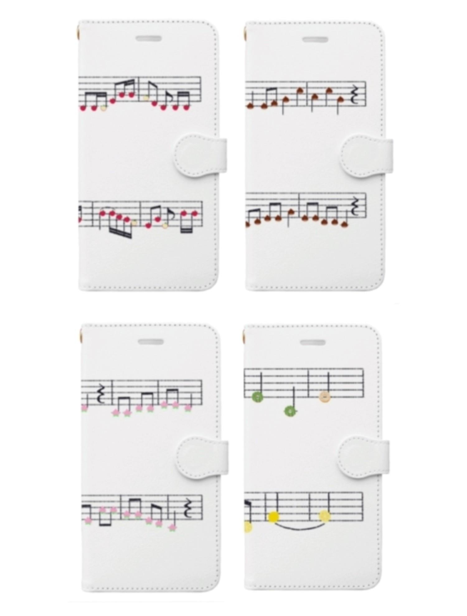 フルーツの楽譜