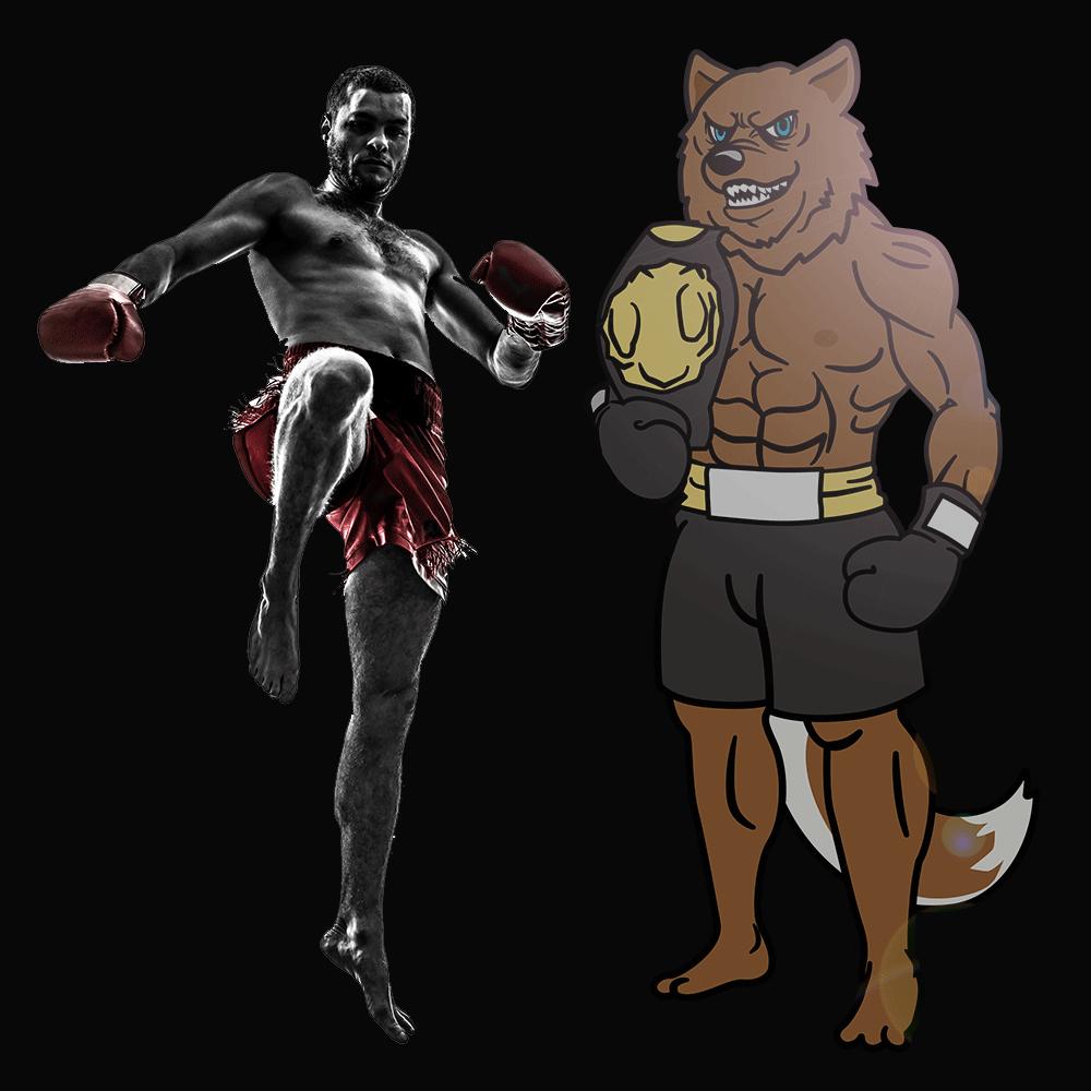 キックボクシング獣人