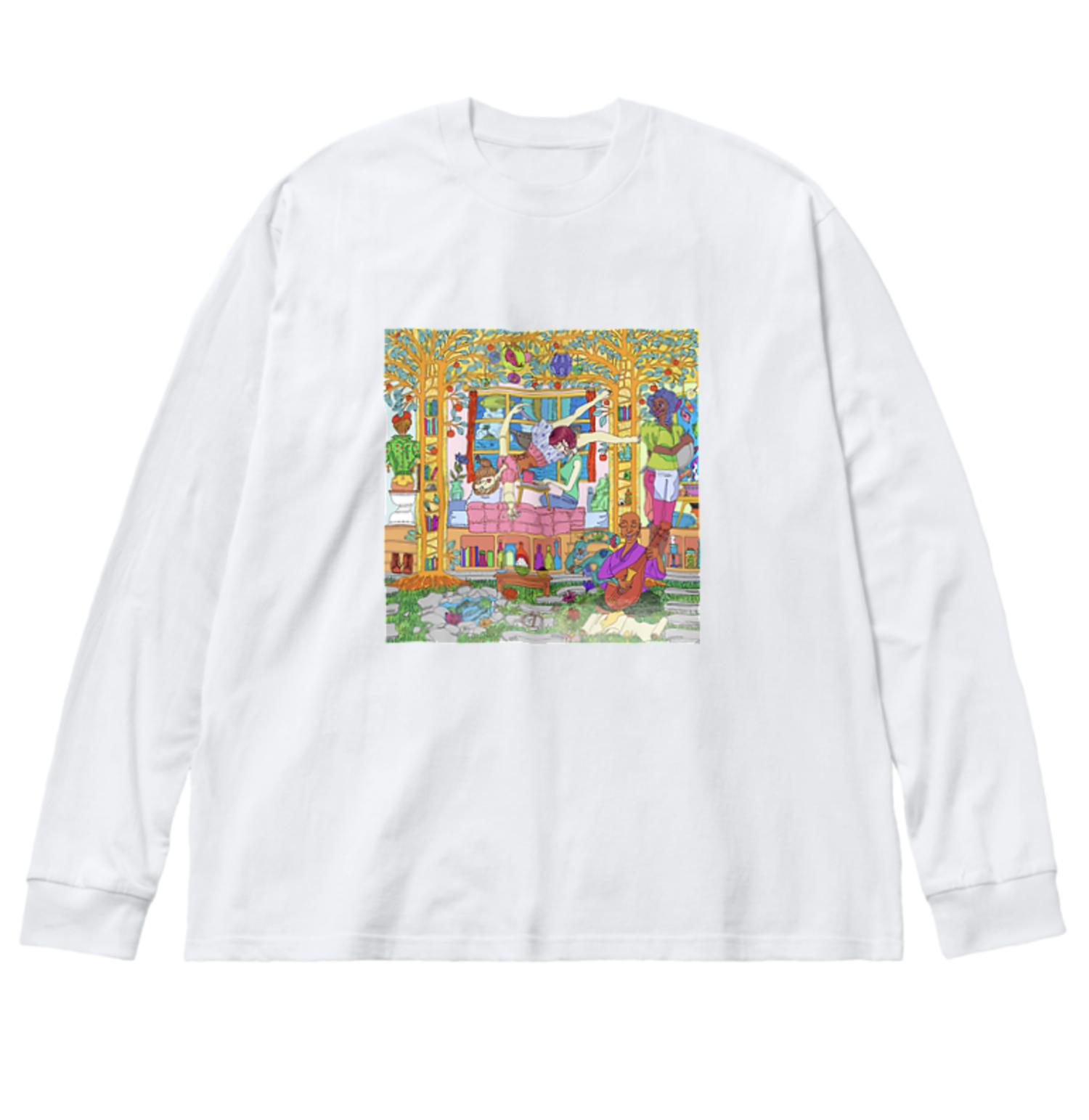 21. ビッグシルエットロングスリーブTシャツ