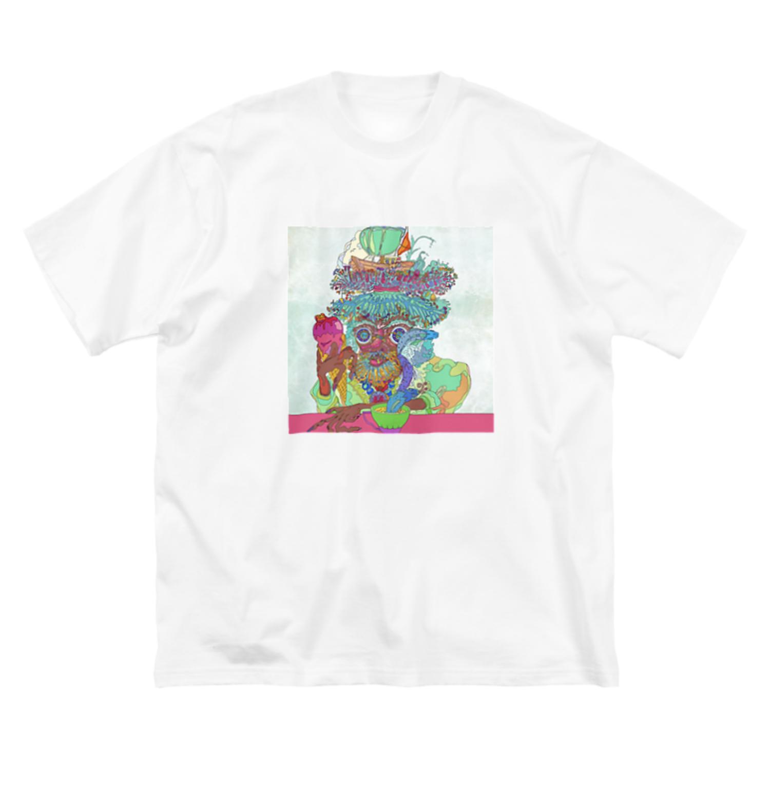 20. ビッグシルエットTシャツ