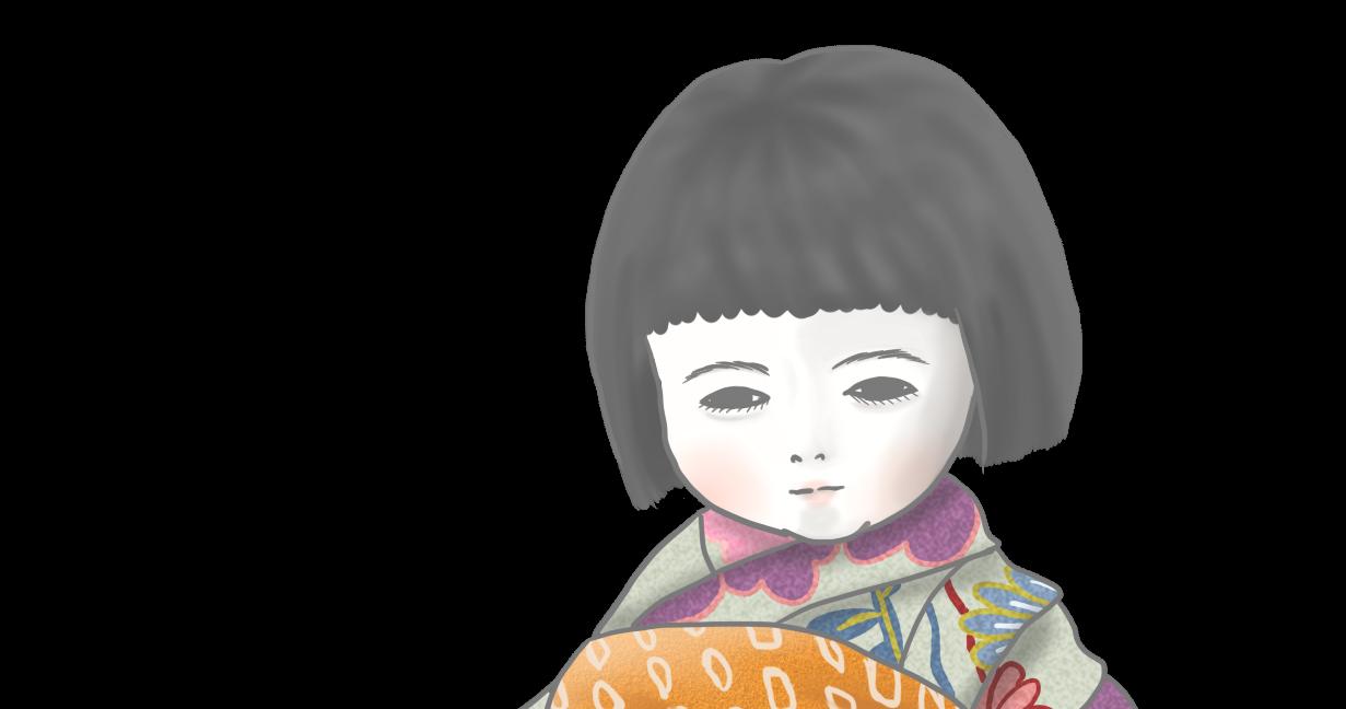 市松人形 茜