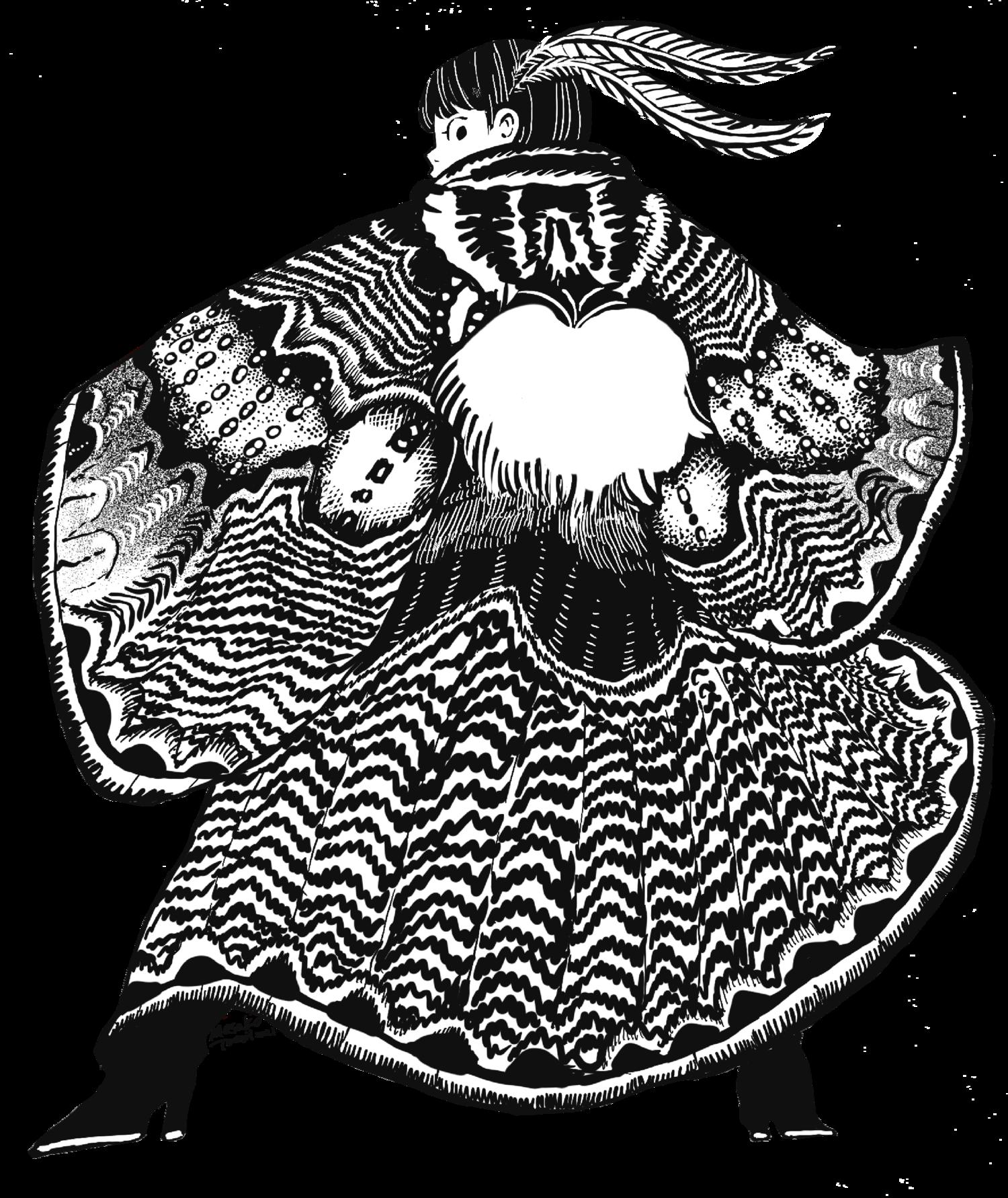 イボタガの衣 モノクロ版