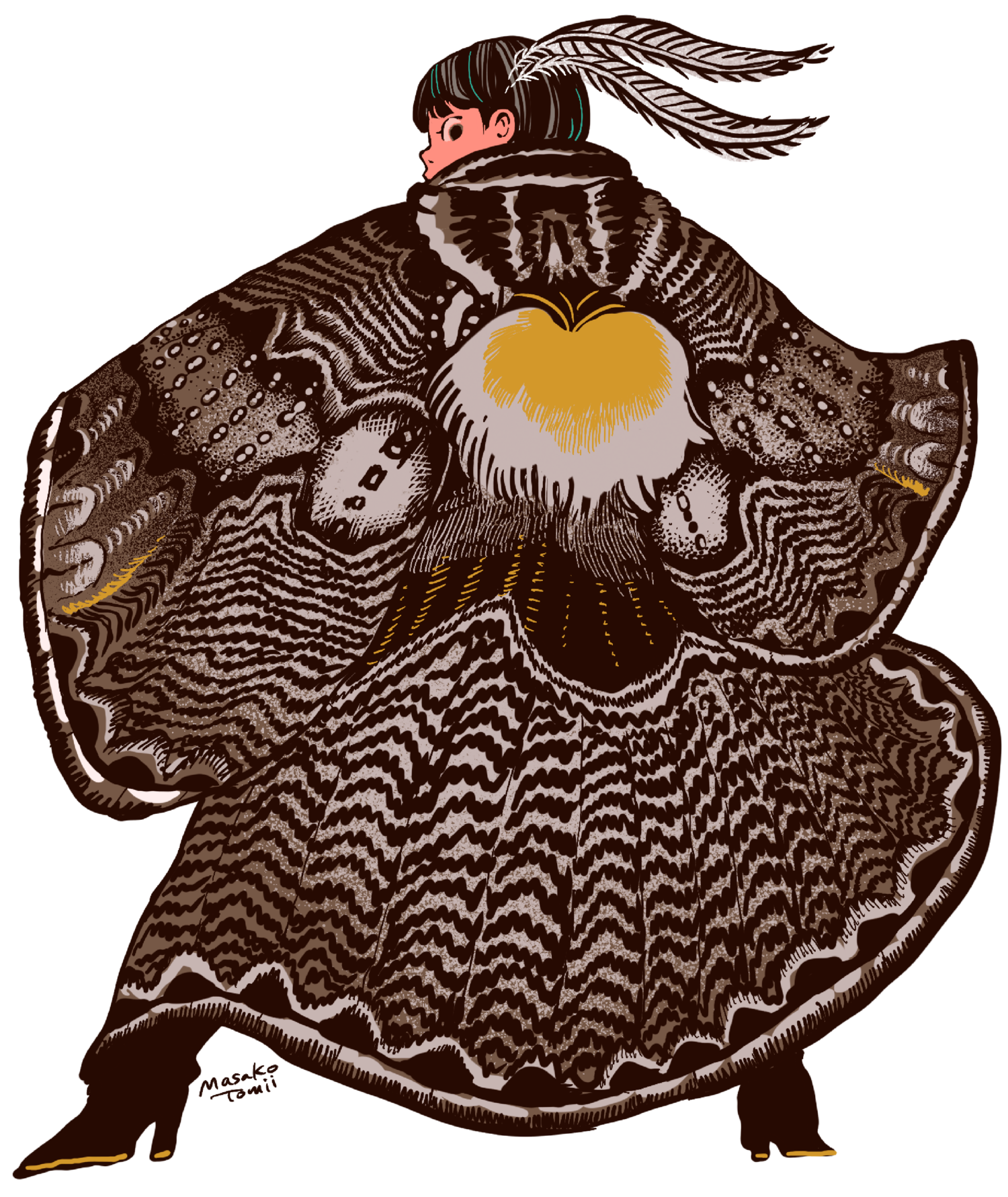 イボタガの衣 カラー版