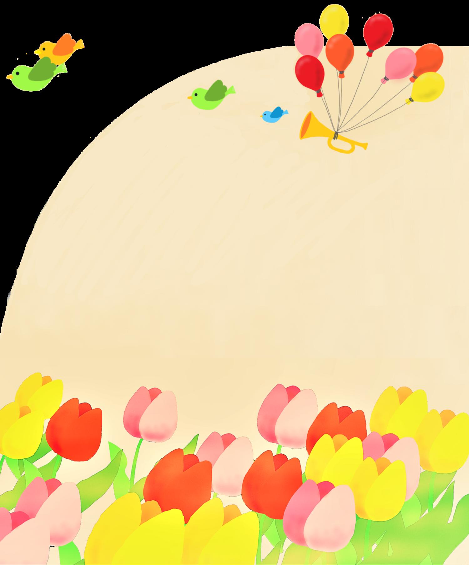 春のラッパ