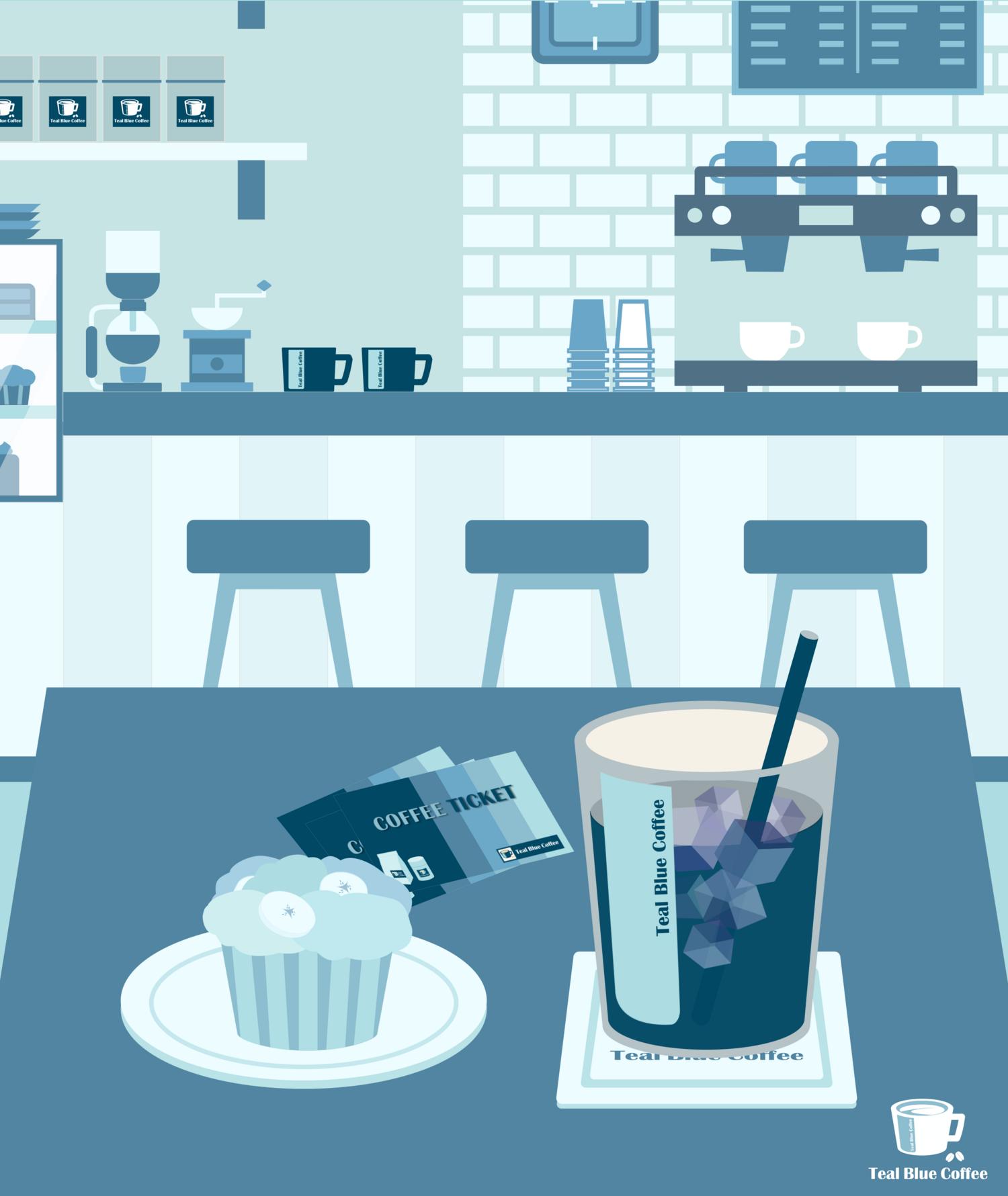 アイスコーヒーをどうぞ
