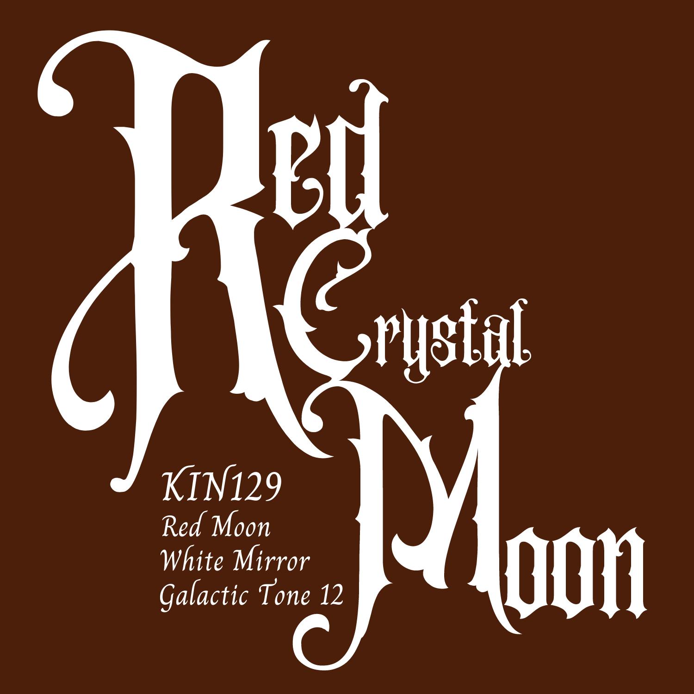 KIN129赤い水晶の月