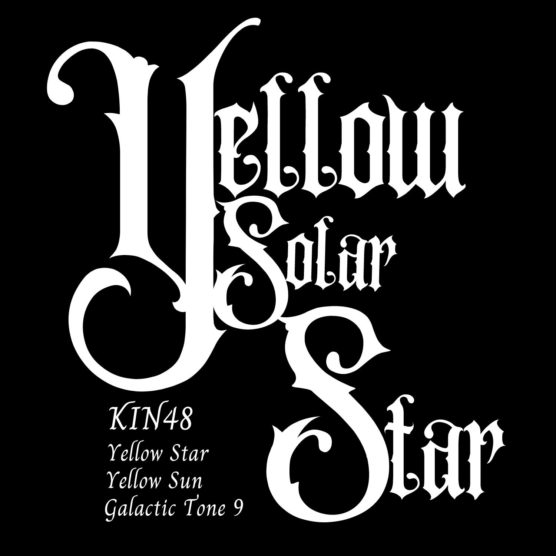 KIN48黄色い太陽の星