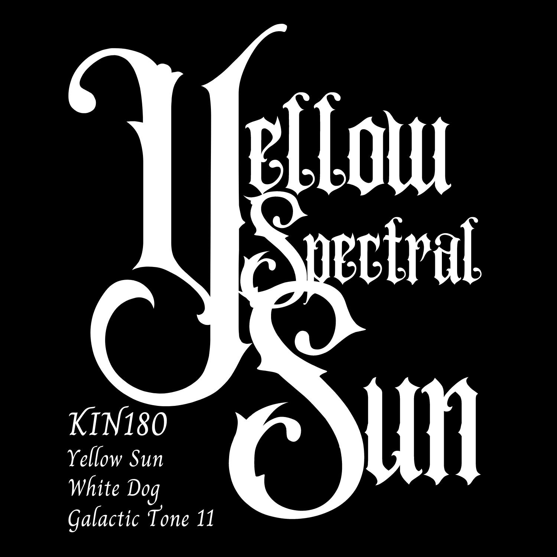 KIN180黄色いスペクトルの太陽