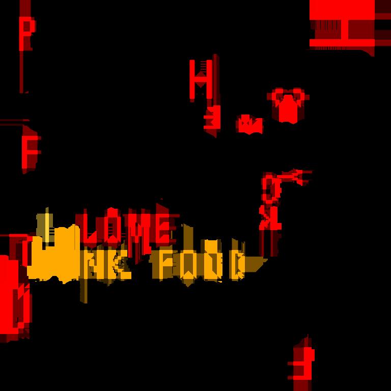 I love junkfood !!(文字色:黒)