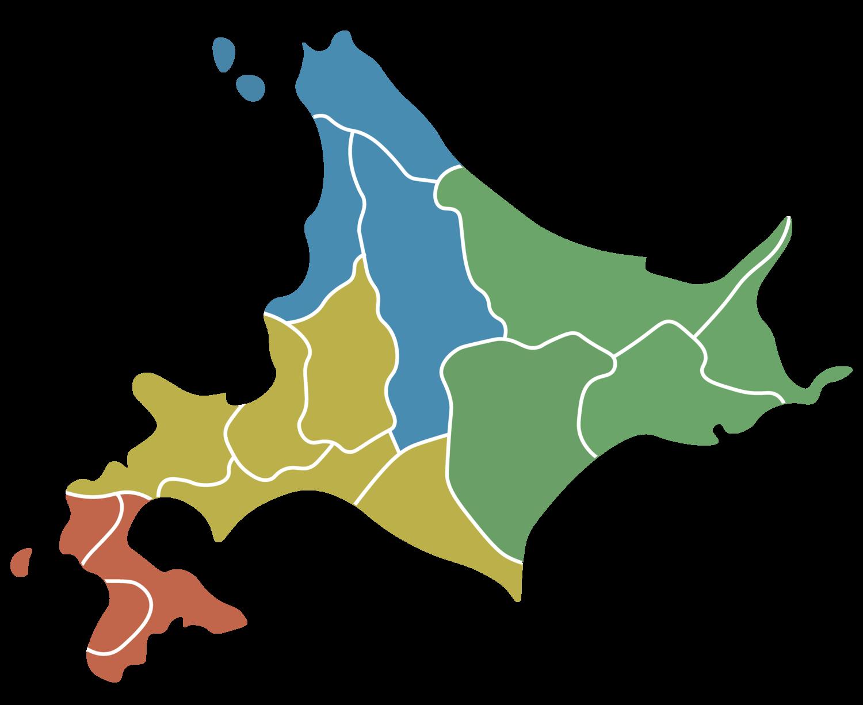 北海道区分地図