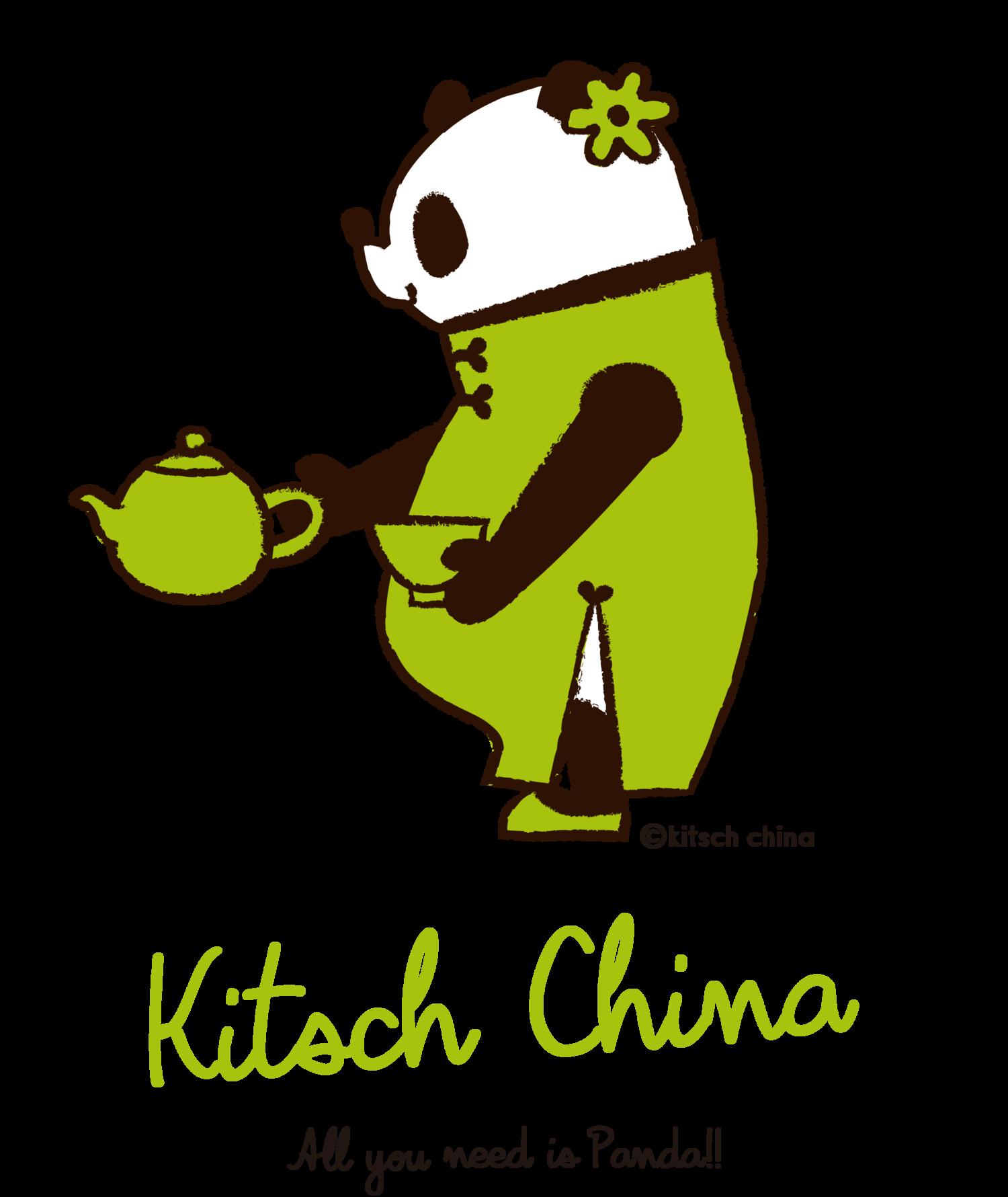 お茶パンダ